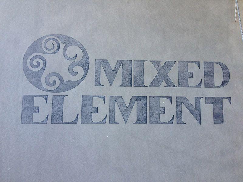 Polished Concrete Benchtops Mixed Element Sunshine Coast