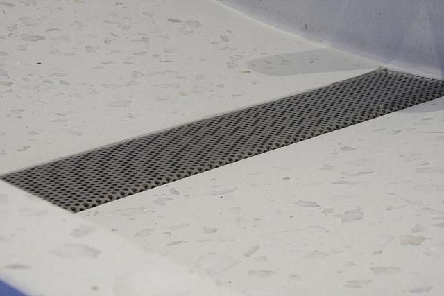 Our design perforated stainless steel drain