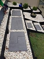 Custom pavers